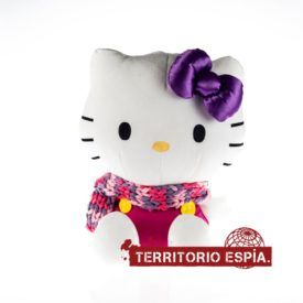 hello kitty con mini cámara espí